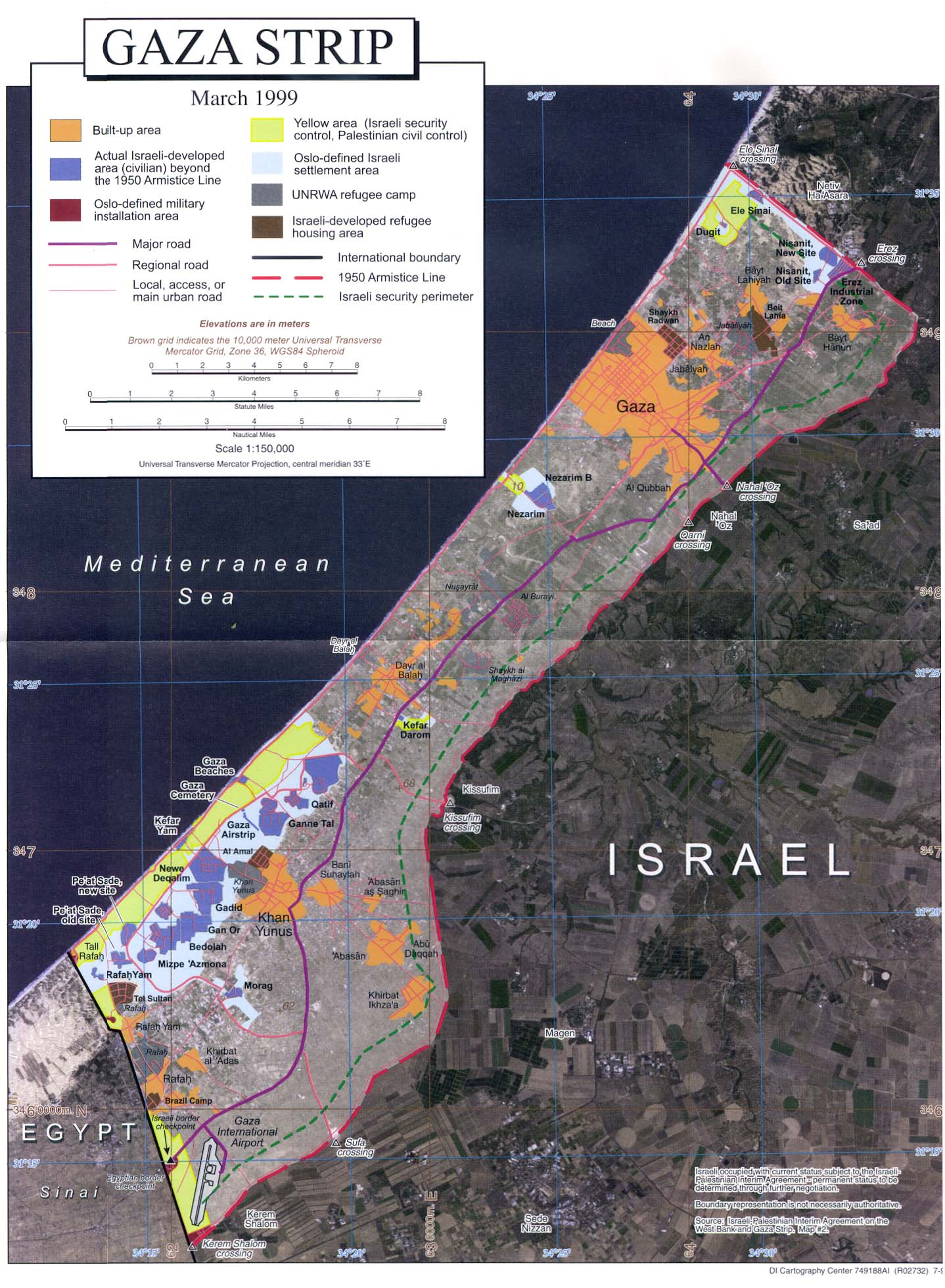 orthophoto map of gaza strip large . interopporg  orthophoto map of gaza strip large